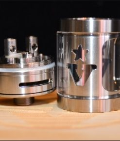 """V"" REBUILDABLE TANK ATOMIZER AND MEGA BOOM ATOMIZER (RDA AND RTA COMBO)"